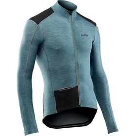 Northwave Fahrenheit Wool Bike Jersey Longsleeve Men turquoise